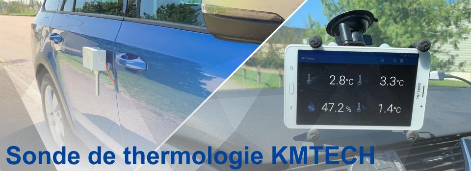 Sonde de Thermologie KMTECH